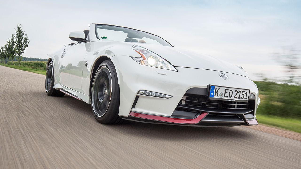 Nissan 370Z Roadster - Frontansicht