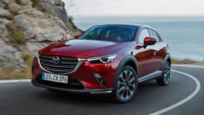 Mazda CX-3 - in der Kurve