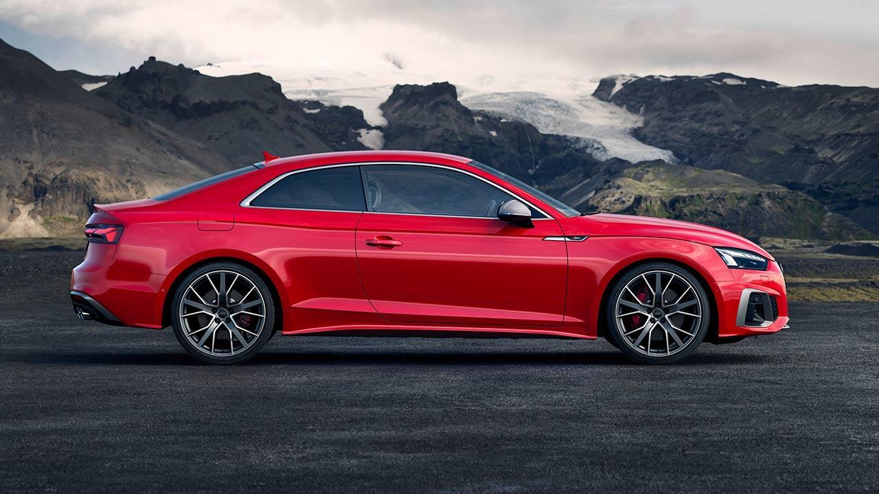 Audi S5 Coupé  - Seitenansicht