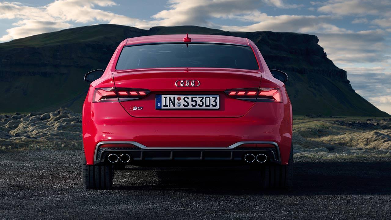 Audi S5 Coupé - Heckansicht