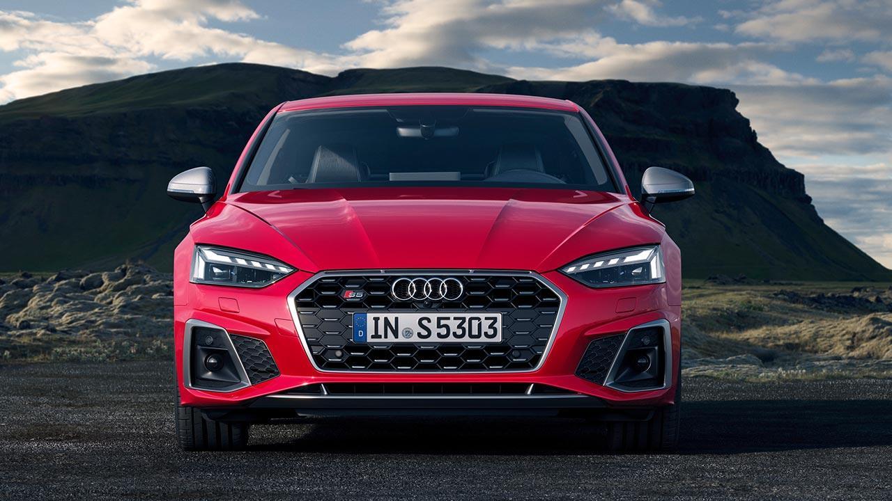 Audi S5 Coupé - Frontansicht