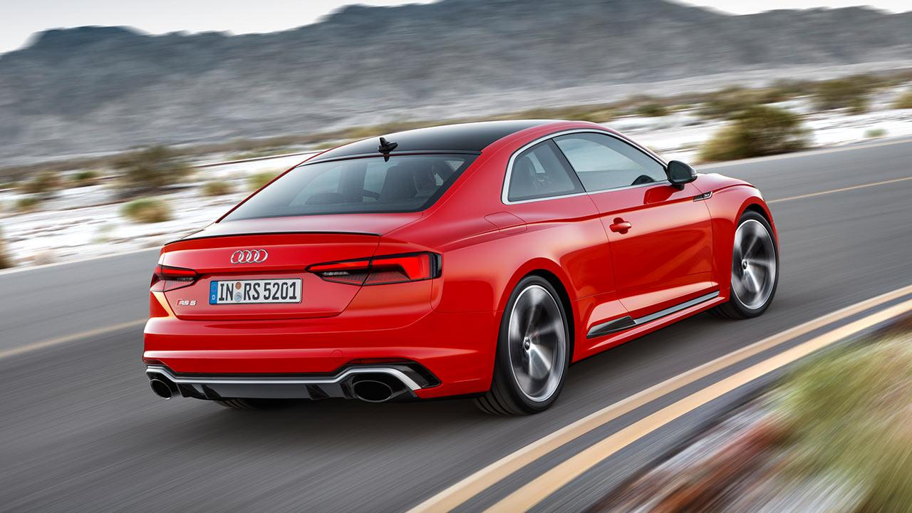 Audi RS 5 Coupé - in der Kurve