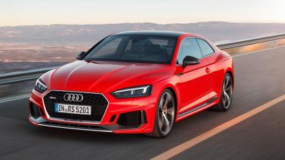 Audi RS 5 Coupé - in voller Fahrt
