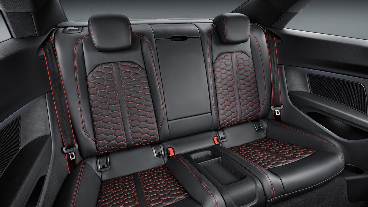 Audi RS 5 Coupé - Rücksitze