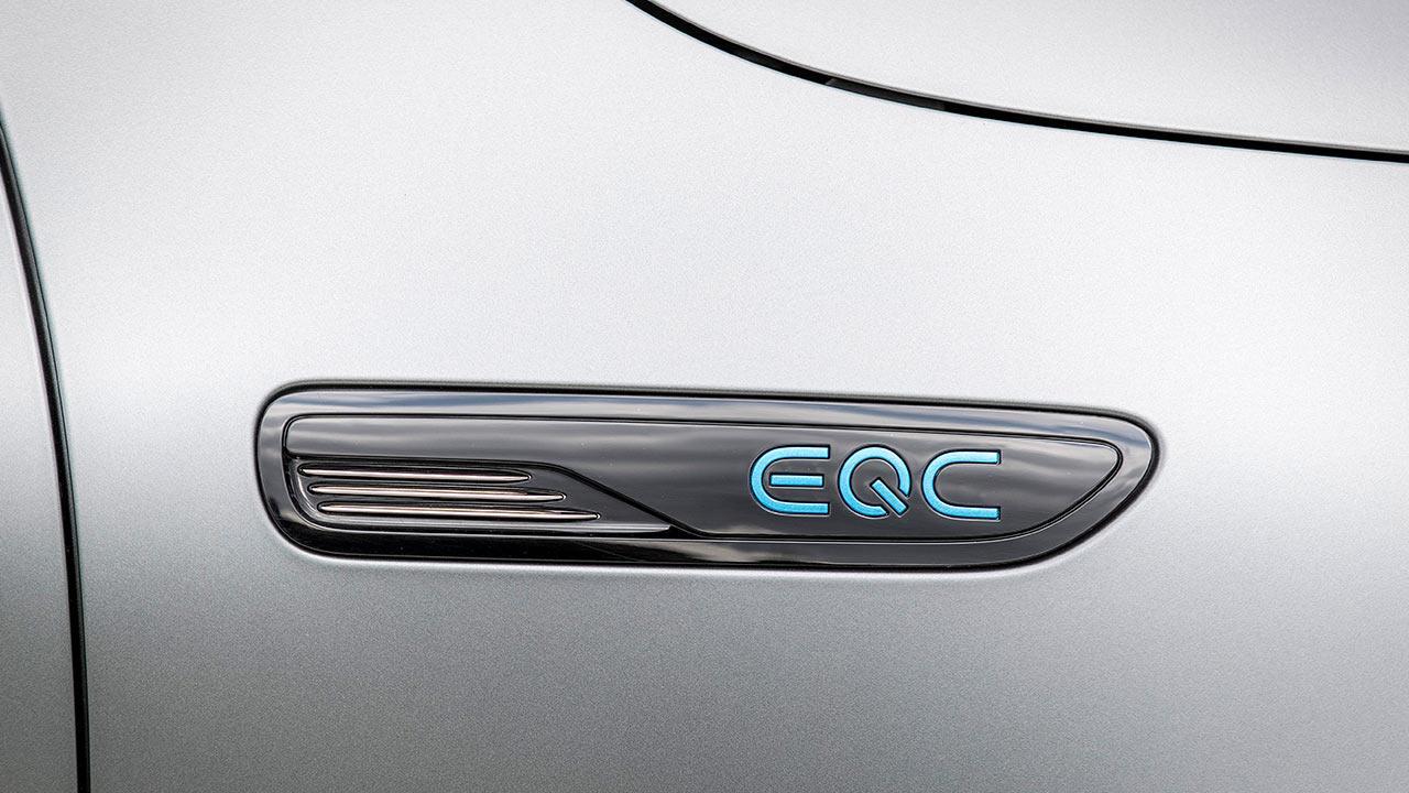 Mercedes-Benz EQC - Schriftzug