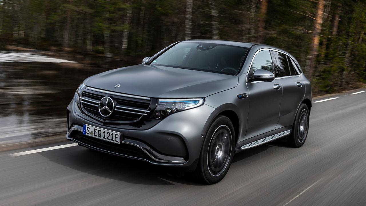 Mercedes-Benz EQC - in voller Fahrt