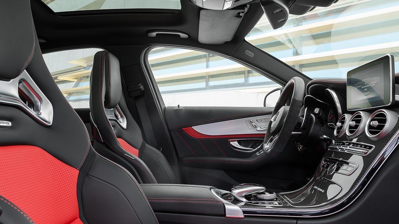 Mercedes-AMG C 63 Limousine - Innenansicht