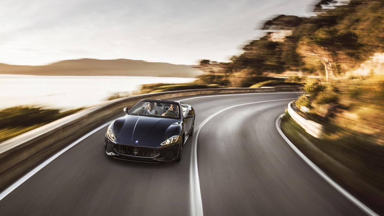 Maserati GranCabrio - Am Meer