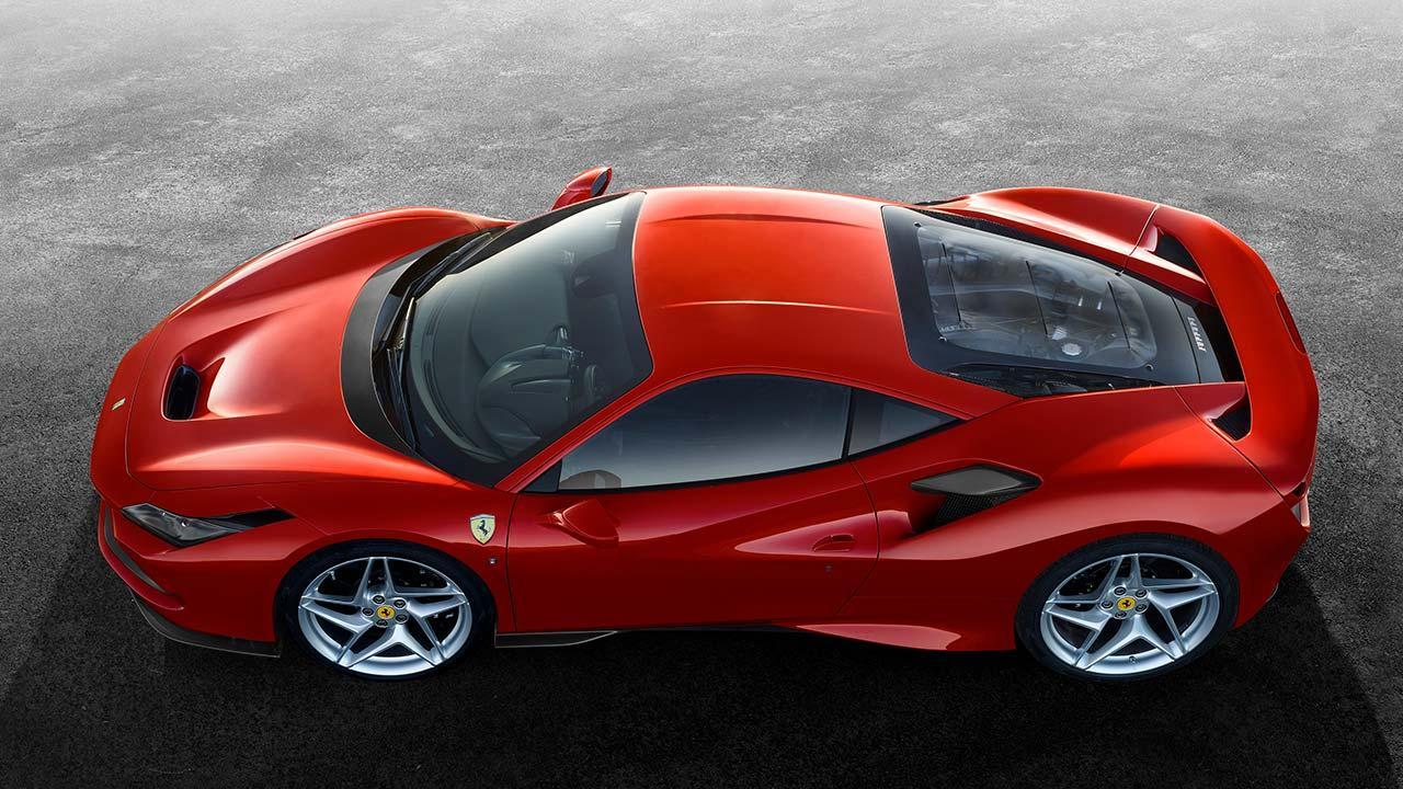 Ferrari F8 Tributo - Vogelperspektive