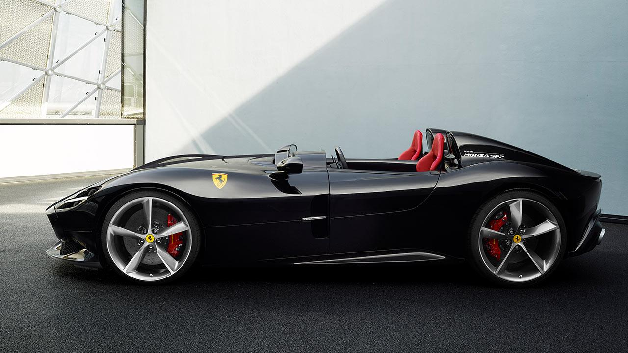 Ferrari Monza SP1 - Seitenansicht